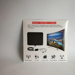 Image 5 - Hdtvアンテナhdデジタル室内テレビアンテナアップグレード2018バージョン50マイル長距離でアンプ信号ブースター
