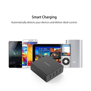 Image 5 - ORICO USB Charger 4 Port Wall USB Phone Charger 5V2.4A*4 6A30W Output USB Charger for iphone