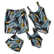 Women Mens Matching Couple Swimsuit family swimwear Bikini Men Board Shorts Swimming Trunks Beach Surfing Boardshort swimsuits