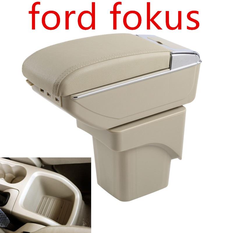 Voiture Boîte d/'accoudoir de Console Centrale pour Ford Focus MK2 2005-2011