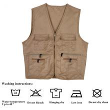 Multifunctional Quick-Drying Mesh Men Fishing Vest Jacket Outdoor Fly Fishing Vest Hunting Jacket Comfort Multi Pockets