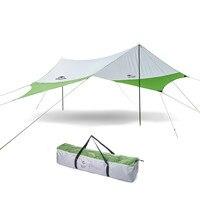 Тент шестиугольный солнцезащитный укрытие Ультралайт солнце затенение водостойкий открытый навес Пляжная палатка переносной Навес Бесед