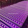 4 комплекта проекторов для сцены 36x3 Вт rgb 3в1 полоса rgb Светодиодная лампа для мытья rgb прожектор dmx настенные светильники led