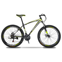 Cyrusher X1 27.5inch suspension fork mountain bicycle Disc brake mountain bike 21 Speeds Aluminum Alloy frame bike