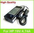 19 V 4.74A 90 W AC adaptador del ordenador portátil fuente de alimentación para HP ProBook 470 4710 s 4720 s 4730 s 4740 s 640 6440b 6445b 645 6450b 6455B cargador