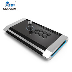 Qanba Q3 PS4-01 Obsidian Joystick for PlayStation 3/4 and PC Professional Gaming Gamepad Joystick