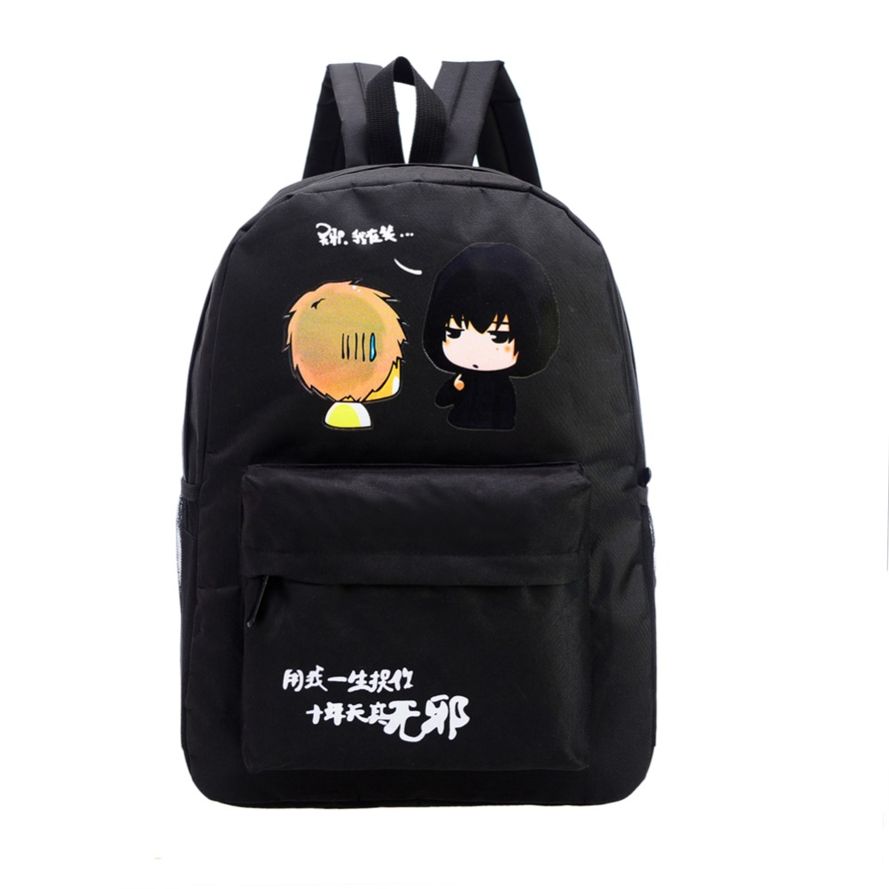 Fairy Tail Backpack for Girls Fairy Tale Bag for School Canvas Japan Anime Printing Pattern SchoolBag for Middle School Students  free shipping korean version candy colors fairy tail logo printing man woman canvas schoolbag red green black blue backpacks