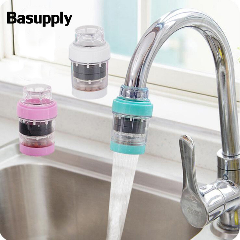 The Kitchen Faucet Filters Kitchen Water Purifier Faucet Filters Household Tap Water Filters for Non-Drinking