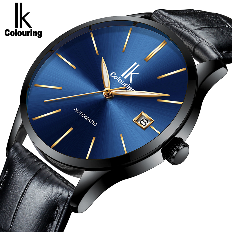 IK Coloring Luxury Brand Men s Watch Sports Wristwatch Men s Business Mechanical Automatic Wrist Watches