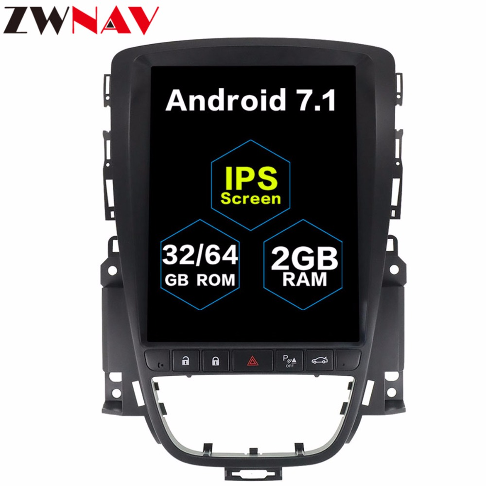 Tesla style 10 4 BIG Screen Android 7 1 Car Multimedia player GPS For OPEL Vauxhall