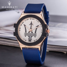 Maserati Quartz Wristwatches Mens Top Brand Luxury Business Quartz Watch Clock Men Waterproof Wristwatch Masculino 57656412