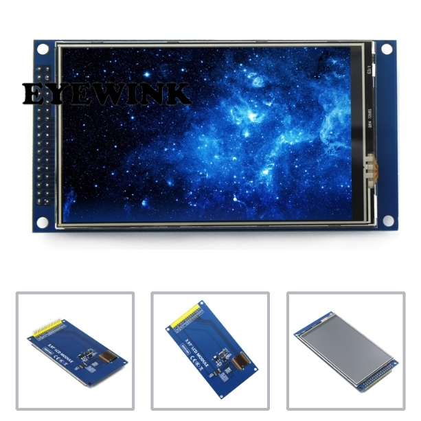 4 inch TFT LCD screen touch screen module IPS full view Ultra HD 800X480 with base plate