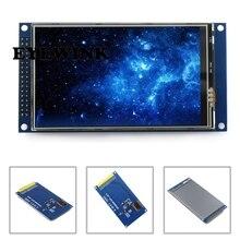 Módulo ips tela de toque lcd 4 polegadas, visão completa ultra hd 800x480 com placa base