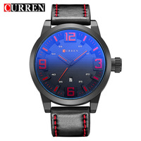 Top Luxury Brand Curren Watch Men Sports Watches Men S Leather Strap Casual Military Wrist Watch