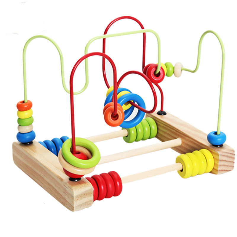 Montessori Materials Kids Wooden Math Toys Baby Learning