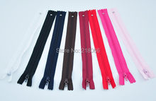 16 Pcs Lots Navy blue Color Nylon Coil Zippers Tailor Sewing Tools 9 Inch(China)
