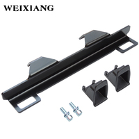 For Audi A6 ISOFIX Belt Interfaces Guide Bracket ISOFIX Retainer For Child Safety Seat