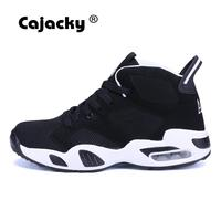 Cajacky Men Women Hiking Shoes Autumn Outdoor Unisex High Top Sport Shoes Lace Up Sneakers Air Mesh Ankle Boots Hotas Hombre New