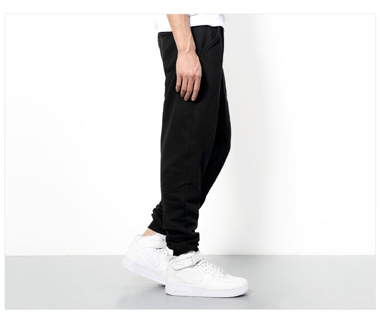 Men Joggers Pants Hip Hop Fashion Sport Skinny Sweatpants Casual Military Jogging Trousers Black beam foot trousers M-4XL (1)