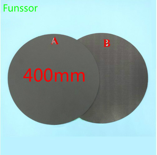400mm Round Magnetic adhesive Print Bed Tape Print Sticker Build Plate Tape FlexPlate A B for