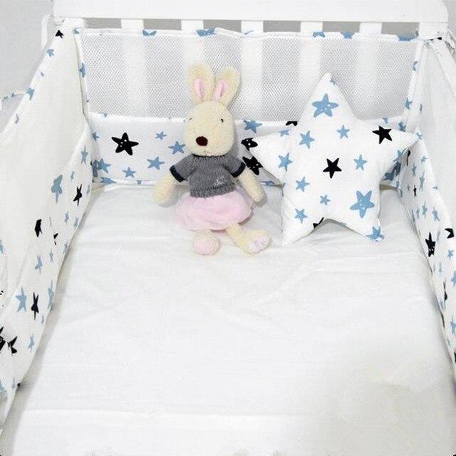 Comprar ahora Algodón bebé parachoques cama impresión dibujos ...