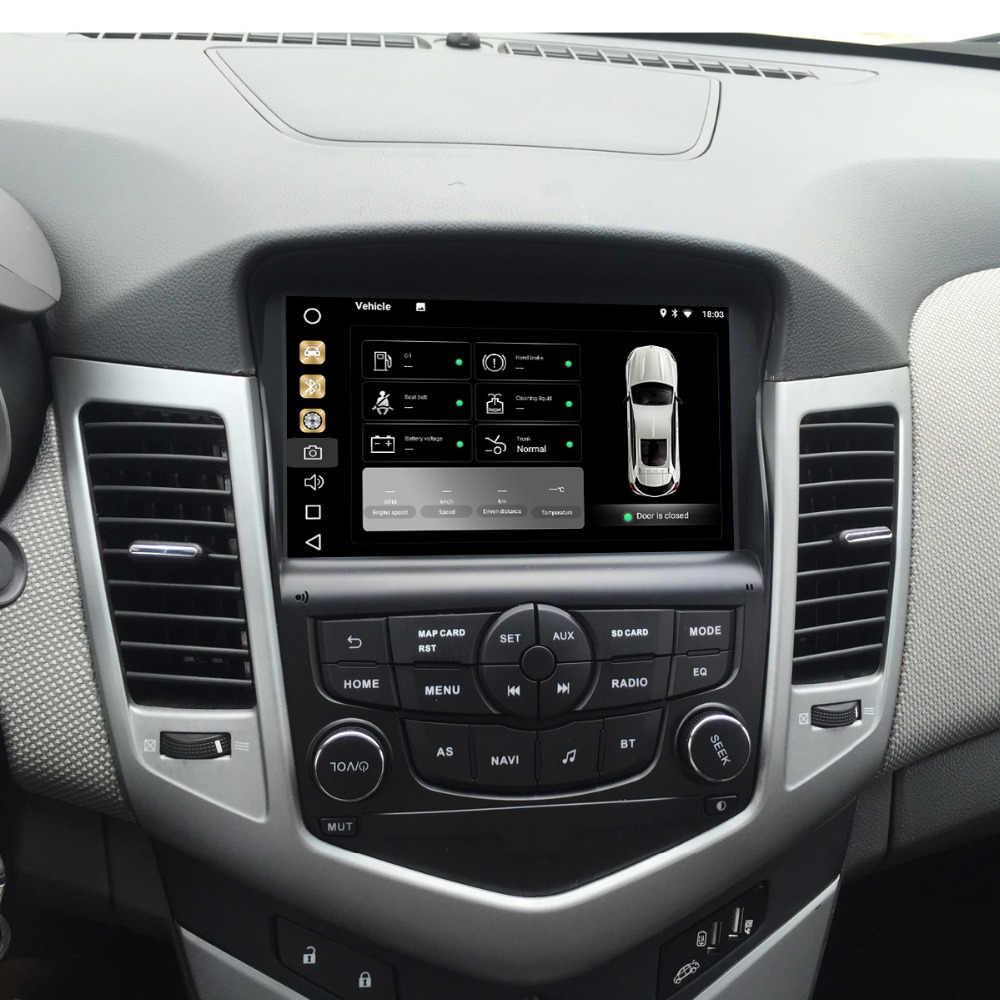 """Dasaita 8 """"アンドロイド 9.0 車の Gps ラジオプレーヤーのためにシボレークルーズ 2008-2011 とオクタコア 4 ギガバイト + 32 ギガバイトオートステレオナビマルチメディア"""