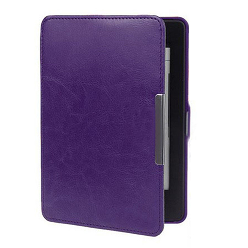Slim Auto Sleep/Wake Magnetic PU Leather Case Cover for Kindle Paperwhite 1 2 3 purple pu leather ebook case for kindle paperwhite paper white 1 2 3 2015 ultra slim hard shell flip cover crazy horse lines wake sleep