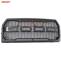 Hot Sale High Quality Black Front Racing Grille For Raptor 15 17