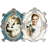 Very Hot Luxury Freestanding Alloy Metal Photo Frame Picture Frames MPF089
