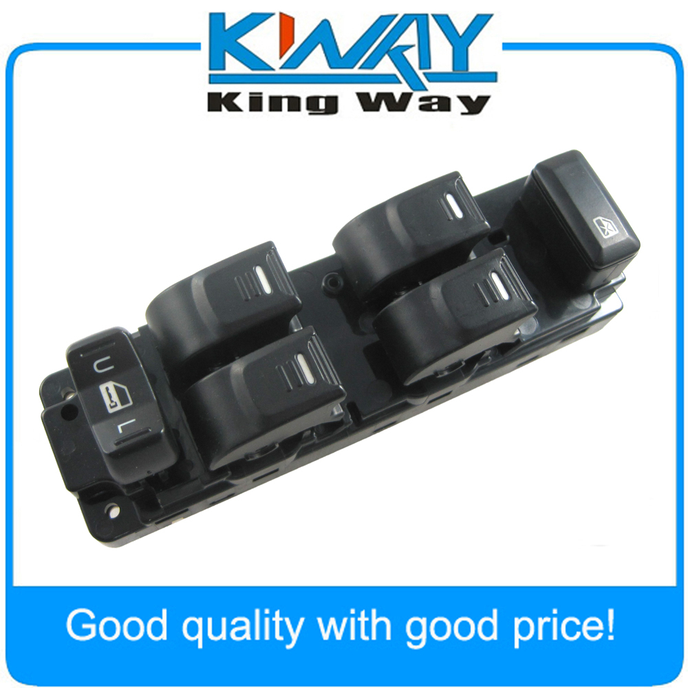 New Front Master Window Switch Left Side For Colorado Canyon Crew Cab H3 H3T 25779767