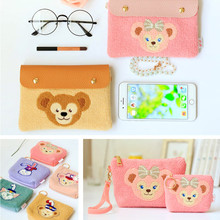 Japan Duffy Bear Shelliemay Stellalou Makeup Bag Kids Coin Purse Cartoon Storage Cosmetic bag Crossbody for Children Gifts