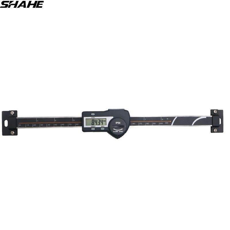 shahe 0 200 mm 0 01 mm digital horizontal type scales digital linear scale caliper scale