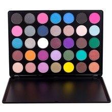 35 Colors Eyeshadow Palette Shimmer Matte Makeup Pallete 35A 35B 35C 35D 35E 35F 35K 35N 35P 35P+ 35T 35W Naked Smoky Set