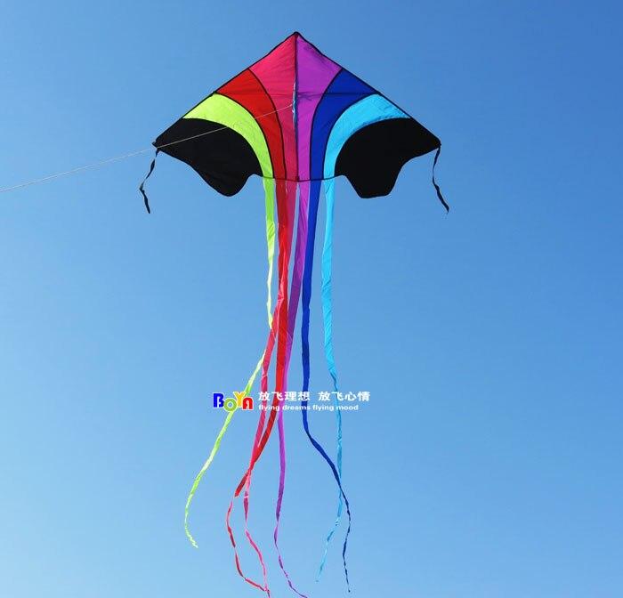 Boya boutique kite flying rainbow cloth small flying spell