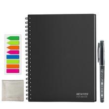 NEWYES точка сетки Smart многоразовые стираемый спираль A4 Тетрадь Бумажный Блокнот Дневник Журнал офис школы путешественников рисунок подарок