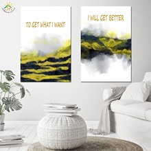 Nordic Poster Decoration Landscape Wall Art Canvas and Print Scroll Painting Decorative Picture for Home Decor