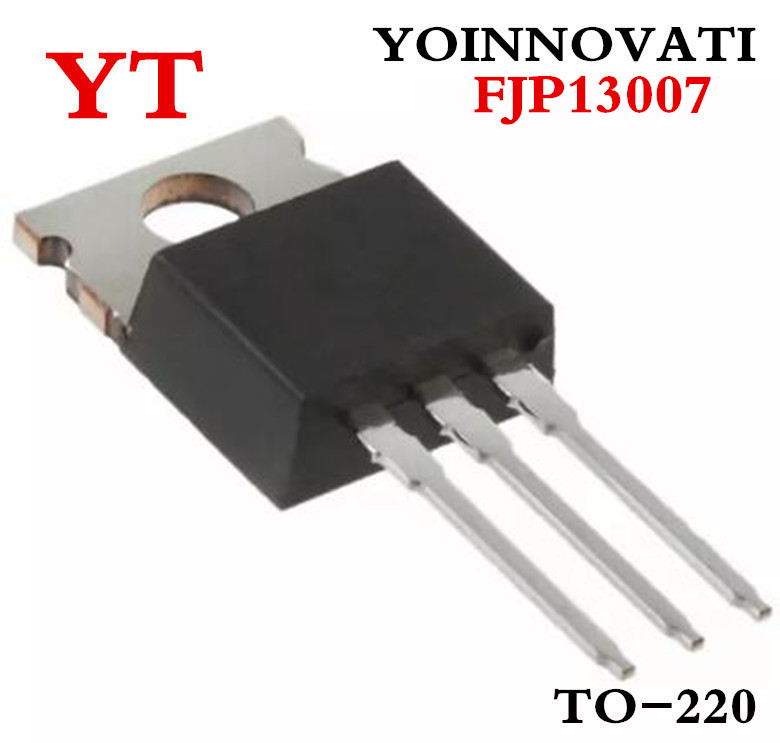 50pcs/lot FJP13007 TO-220 MJE13007 J13007 <font><b>13007</b></font> TRANSISTOR image