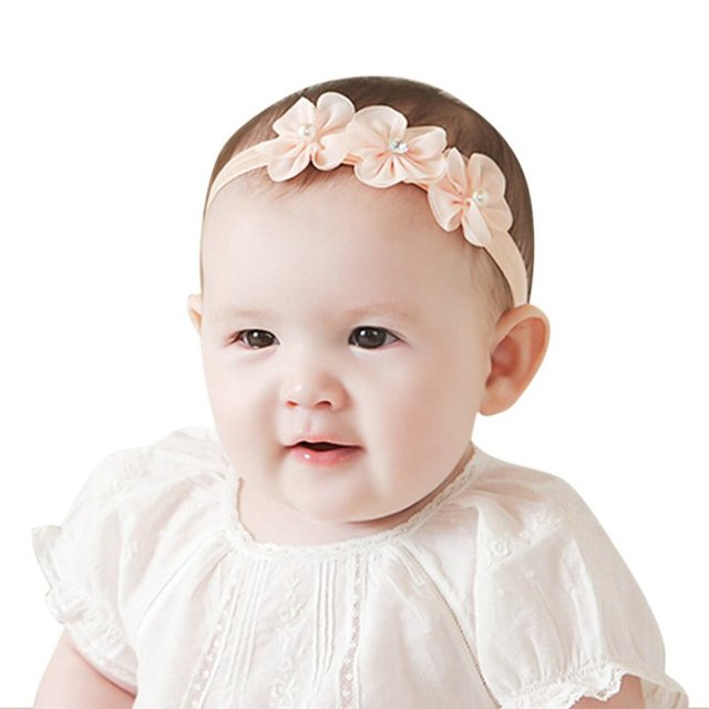 Lace Baby Headband Chic Flower Girls Headband Hair Bow Flower Headband for Baby  Girl Children Hair e02d140dd0c3
