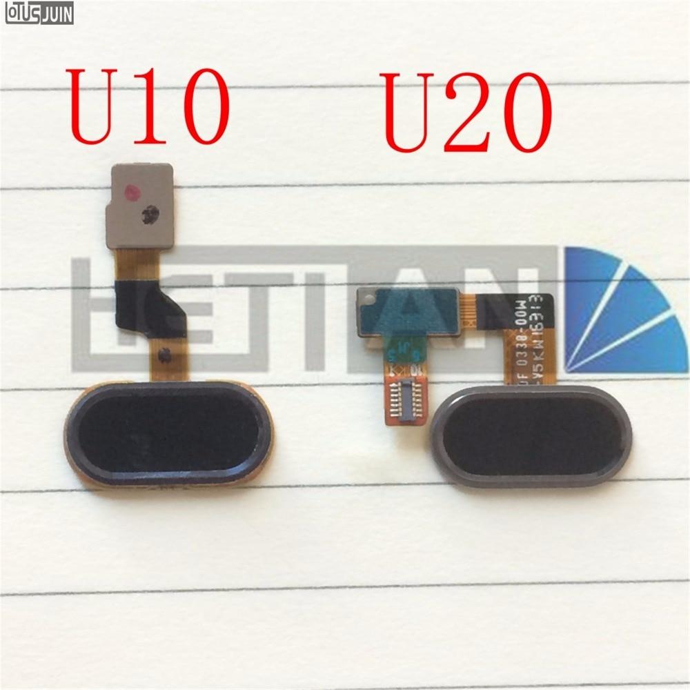 1PCS For Meizu U10 U20 Home Button Fingerprint Menu Return Key Recognition Sensor Flex Cable Ribbon U10 U20