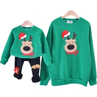 Christmas Family Look Deer Mommy And Me Clothes Matching Family Clothing Mother Daughter Mom Son Father