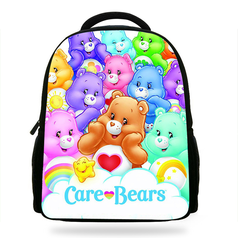 Cute The Care Bears Cartoon Bag Primary School Backpacks Schoolbag Rucksacks Children School Bags For Girls Kids Bag Grade 1-3-4