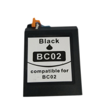 vilaxh BC-02 Ink Cartridge for Canon BC 02 Black ink cartridge CANON BJC 100 110 200 210 210SP 230 240 250 255 265SP 1000