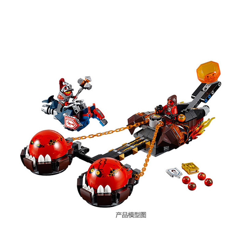 33Nexo Knights Beastmaster's Chaos Chariot Macy Building Blocks Nexu 70134 Bricks Toys Christmas Gifts - Bill's Toy Store store