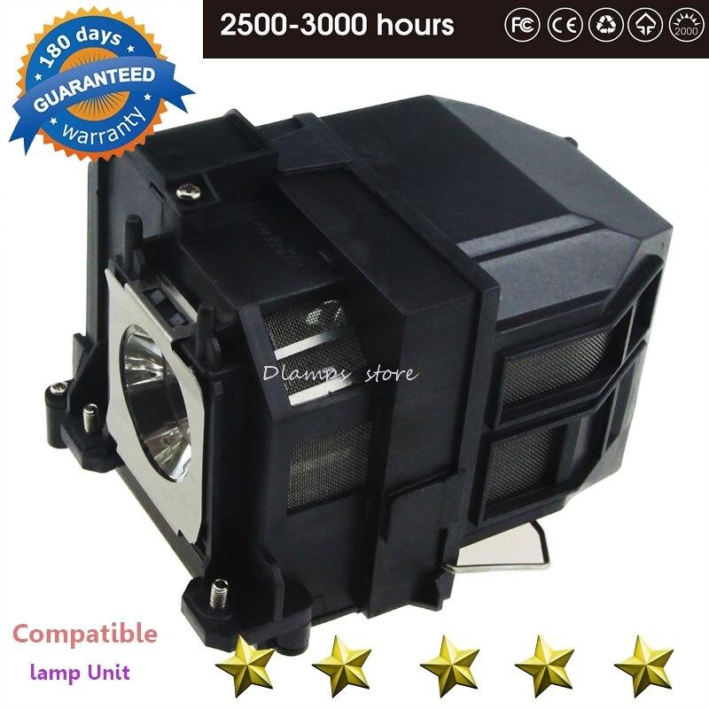 Замена лампы проектора ELP71 для EB 470 EB 475W EB 480 EB 485W/PowerLite 470 475 Вт 480 485 Вт, 475Wi 480i 485Wi