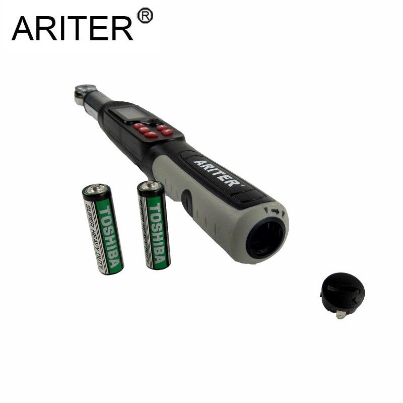ARITER 1,5 30N. m 1/4 Drive регулируемая профессиональная Электронный ключ крутящий момент для велосипеда ремонт автомобилей крутящий момент инструм