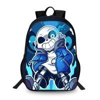 BAOBEIKU New Hot Sal 3D Backpacks Undertale Characters Printing Cool Children SchoolBags For Girls Boys Men