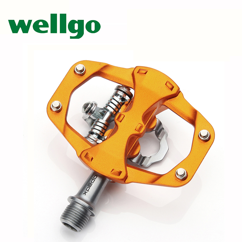 wellgo bicycle pedal bearings Al alloy ultralight road bike mountain bike pedals self-lock clipless pedal de encaixe MTB 291g wellgo cycling road pedals self lock light weight upgraded version bicycle bike cycle cleat pedal black pedales bicicleta road