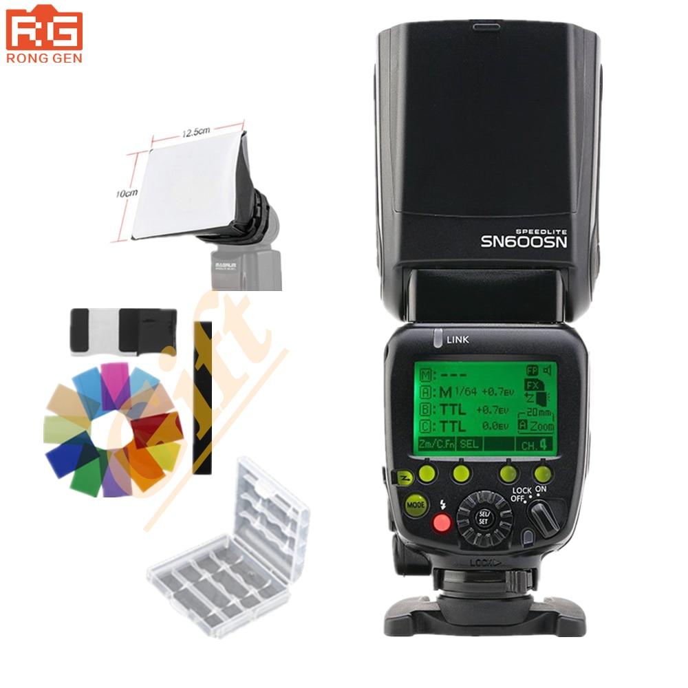 Shanny SN600SN Master Flash Flash haute vitesse Sync 1/8000 s GN60 Flashgun pour Nikon D7100 D7000 D90 D80 D5200 D5100 D5000