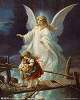 Famous Painting Oil Style Angels Religion European Wallpaper Mural Rolls Hotel Living Room Bedroom Building Wall