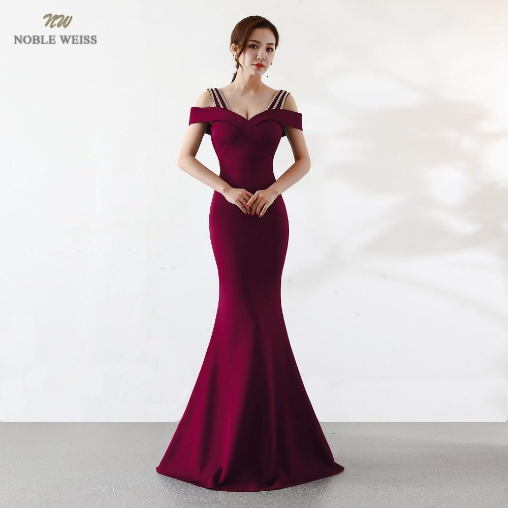 Благородное WEISS Лидер продаж атласное выпускное платье с вырезом «Лодочка» пикантное простое тонкое корсет Высококачественная вечерняя од...